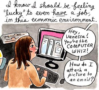 Vanessa Davis, computer whiz