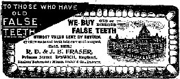 We Buy False Teeth